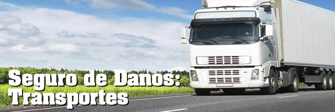 Seguro de Danos: Transportes