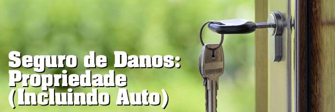 Seguro de Danos: Propriedade – Incluindo Auto